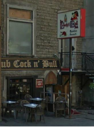 Sorry, that The cock n bull restaurant
