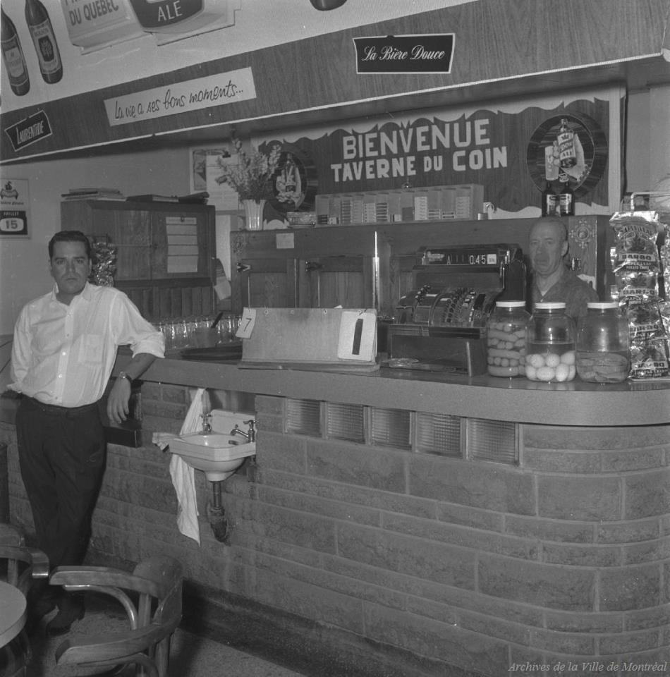 #TBT Montreal's taverns; relics of the past