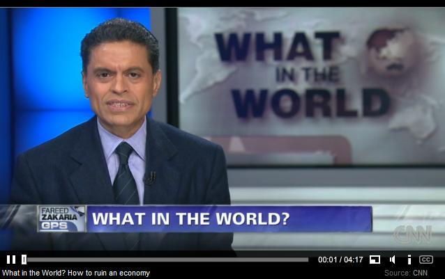 Fareed Zakaria/CNN