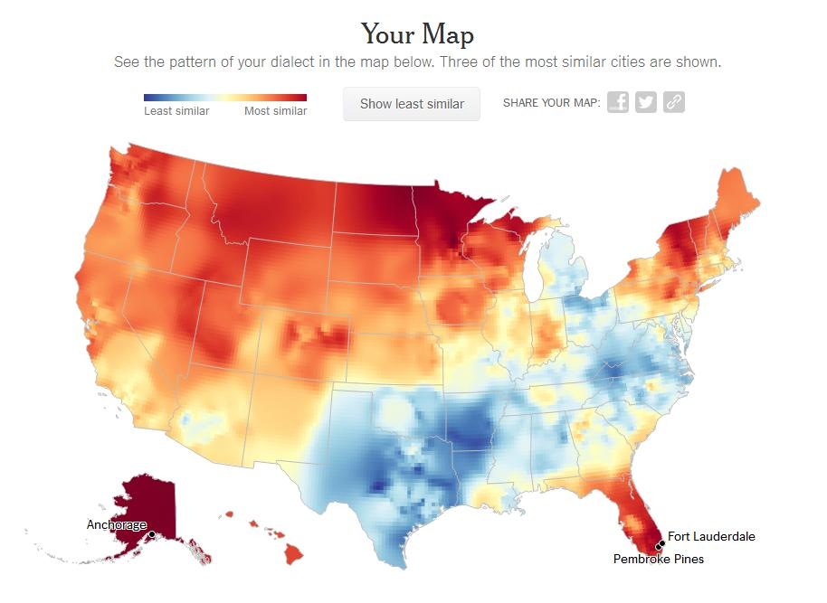 Language And Dialect Quiz DCMontreal Blowing The Whistle On Society - Us dialect map quiz