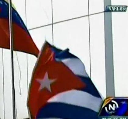 Cuban flag makes a break for freedom!