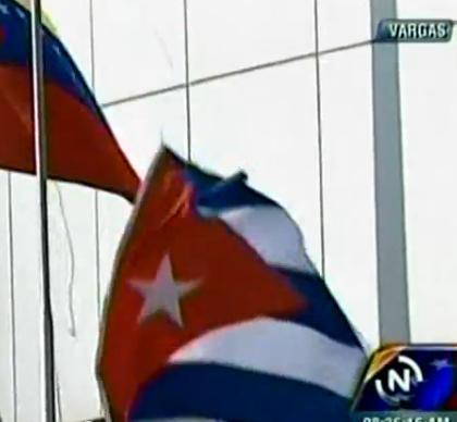 Cuban flag makes a break for freedom!