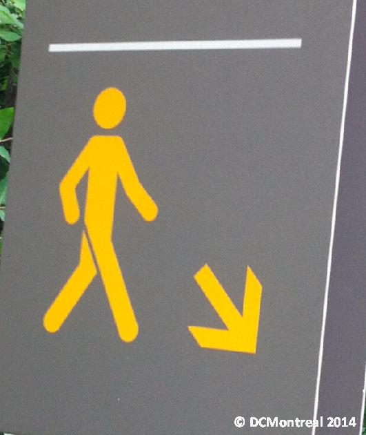 After cure and crutch abandonment, pilgrims are directed to walk ...