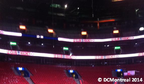 BELL Centre roof from my vantage point
