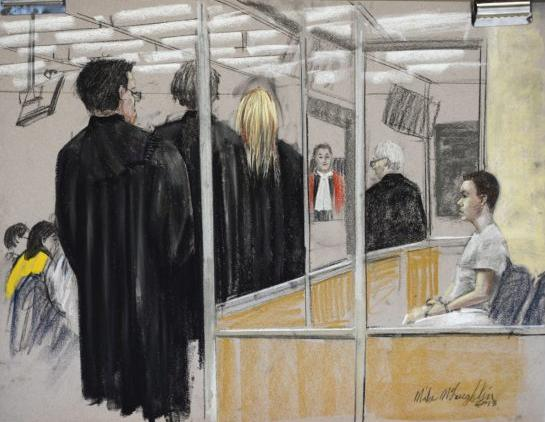 Luka Magnotta by Mike McLaughlin / THE CANADIAN PRESS