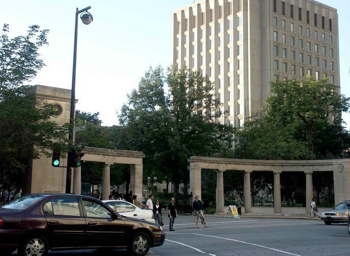 Roddick Gates of McGill University/ Wikipedia