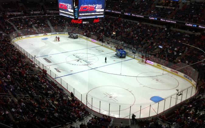 Pre-Season NHL experiment with Zamboni racing to decide ties