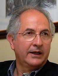 Caracas Mayor Antonio Ledezma