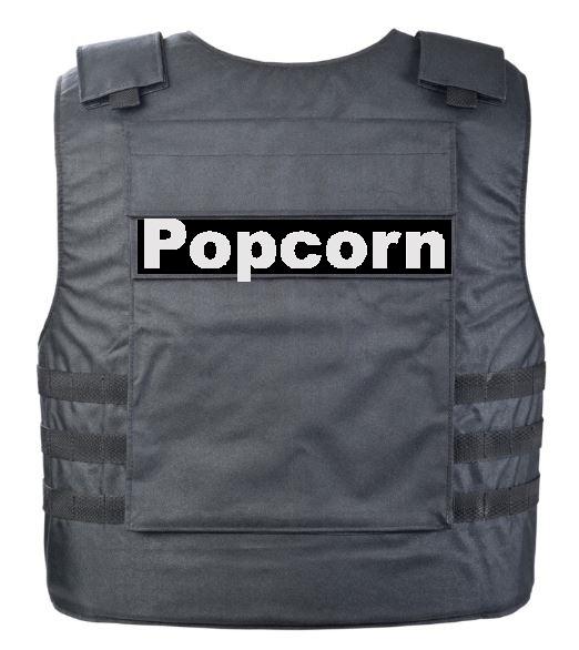 Kevlar Vest for popcorn safety