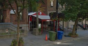 Entrance to former Annex/Google Maps