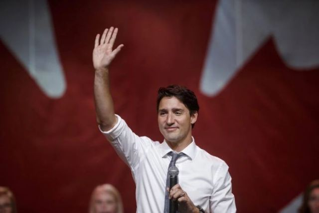 Canadian Prime Minister Justin Trudeau Cole Burston—Bloomberg/Getty Images