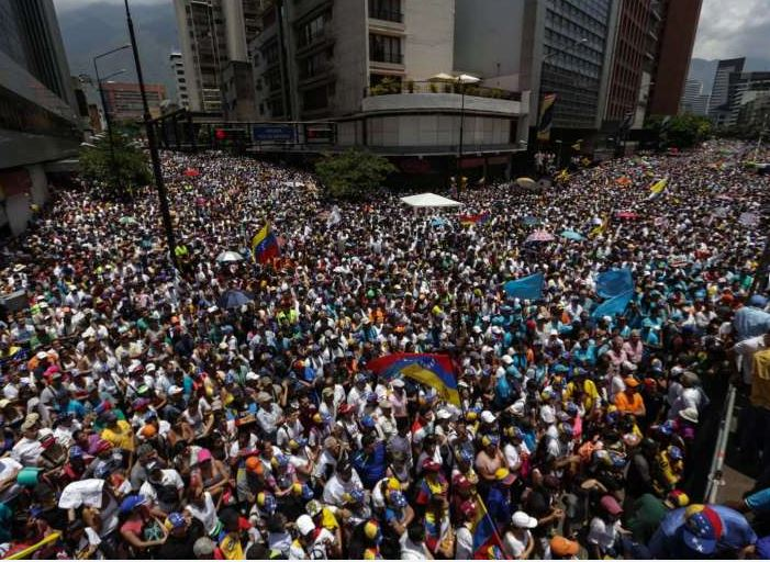 Venezuelan protests: Trump administration is sucking the air out of world news