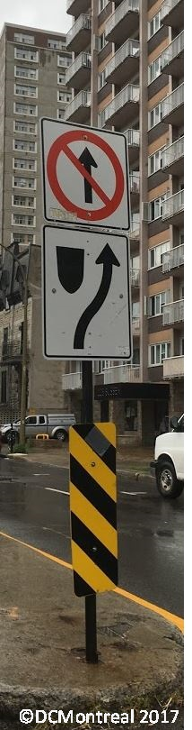 Odd Traffic Sign and Pride Week inMontreal