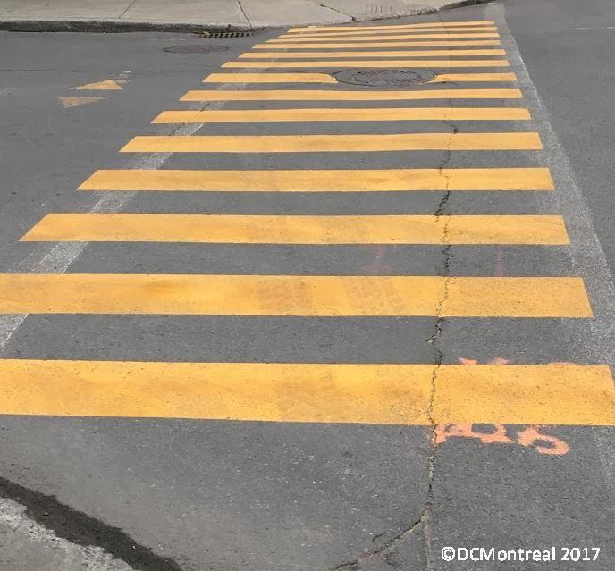 Crosswalks and Speed Bumps; NotInterchangeable