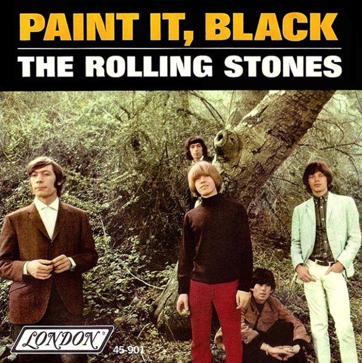 The Rolling Stones, Commas, and Painting Things Black