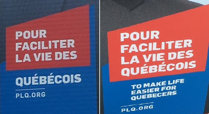Odd Quebec Election CampaignSlogan